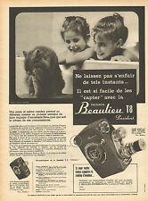 Publicité  --  la caméra Beaulieu T 8
