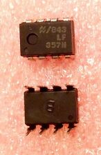2x New LF357N National JFET OpAmp 8-Pin DIP NOS New Old Stock