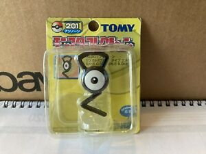 Rare Yellow Box Series Unopened TOMY Unown  Pokemon Figure #201