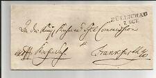 Preussen V. / ZÜLLICHAU 7. OCT., L2 auf Kabinett-Brief