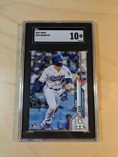 Gavin Lux 2020 Topps Series One RC SGC 10 (Comp BGS 10) *Gem MINT* ROY?? (LAD)