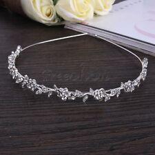 Beautiful Glitter Rhinestone Flower Crystal Headband Hairband for Girl Women