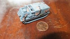 MILITARY MICRO MACHINE BLACK BROWN GRAY CAMO M270 MLRS ROCKET ARTILLERY #1