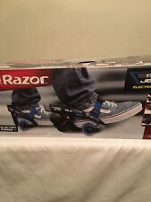 Razor Turbo Jetts Electric Heel Wheels - DLX Blue with Lighted Wheels NEW NIB
