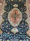 Silk Rug from Hereke, Turkey (929 KPSI) woven by the Ozipek family 32 X 46 inche