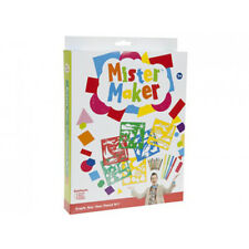Mister Maker Stencil. Toy Craft Gift Activity Creative Child Gift for Him or Her