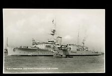 Royal Navy HMS Vindictive vintage RP PPC