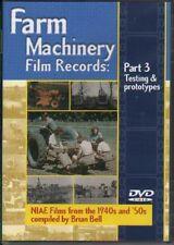 DVD: FARM MACHINERY FILM RECORDS-Testing & Prototypes