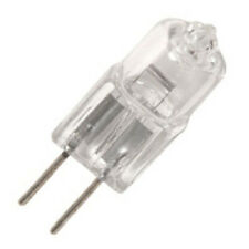 Lot of 10 Bulbs - JC Halogen G4 (base) 12 volt 35 watt