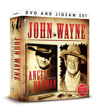 JOHN WAYNE DVD & JIGSAW - ANGEL AND THE BAD MAN DVD + 1000 PIECE JIGSAW PUZZLE