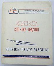 Cessna 400 COM-NAV-NAV/COM Original Service/Parts Manual