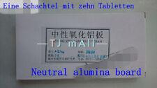 Agf254 10 *20cm Dünnschichtchromatographie neutrale Aluminiumbleche
