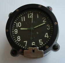 Rare type 127 Chs USSR Russian Soviet Military Tank Panel Clock 5 Days #48206