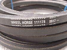 "Toro Wheel Horse OEM 111178  mower deck 6 sided 140.5"" drive belt -new  FREESHIP"