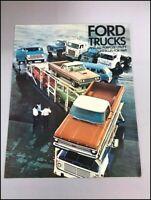 1969 Ford Truck Vintage Sales Brochure - Bronco F-100 F-250 Ranchero GT Van