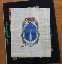 Scarabée ✤ Original sur Papyrus