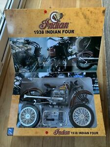 Indian Four 1938 Vintage 1:6 Motorcycle Kit New Ray
