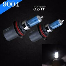 9004-HB1 White 5000K 55w Xenon Halogen Headlight 2x Light Bulb High Low Beam