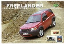 Land Rover Freelander Commercial 1999-2000 UK Market Sales Brochure