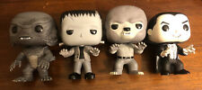 Funko Pop Universal Monsters 4 Pack Gemini Exclusive B&W, vaulted
