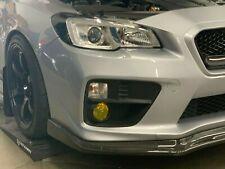 2015-2019 Subaru WRX / STI Fog Light Tint Overlay YELLOW
