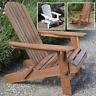 Adirondack Chair Outdoor Garden Acacia Hardwood Plant Theatre Seat
