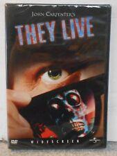 They Live (DVD, 2003) RARE 1988 RODDY PIPER / JOHN CARPENTERS HORROR BRAND NEW