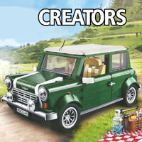 Lego Mega Block 10242 Creator COMPATIBIL100% Mini Cooper 1077pz SCATOLA BULK NEW