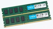 Crucial 8GB (2x 4GB) 240-Pin DDR3L 1600 (PC3L 12800) Desktop Ram CT51264BD160BJ