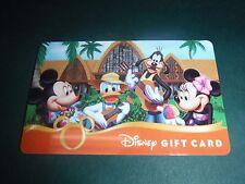 New Disney Parks Aulani Mickey Minnie Mouse Gift Card NO MONEY VALUE