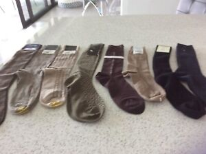 8 Pairs Mens Assorted Dress Socks new with tags