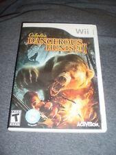 Cabela's Dangerous Hunts 2011 -- Special Edition (Nintendo Wii, 2010)