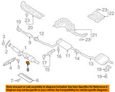 VW VOLKSWAGEN OEM 12-14 Passat 2.0L-L4 Exhaust-Lower Bracket Stud N0144833