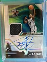 2018-19 Chronicles Jerry Stackhouse Patch AUTOGRAPH JERSEY #/99 V-Team Auto