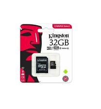 NEW KINGSTON MICRO SD 32GB SDHC MEMORY CARD 100% GENUINE