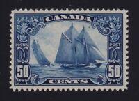 Canada Sc #158 (1929) 50c dark blue Bluenose Mint NH MNH