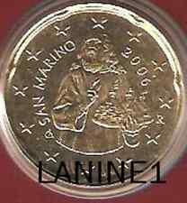 20 CENT BU SAINT MARIN ANNEE 2006