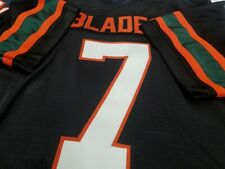 #00 Miami College  Custom Football Jersey  Your Name Number-SEWN-ON.