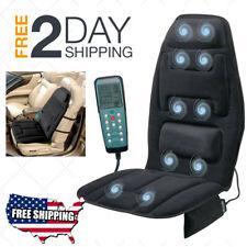 Massage Seat Cushion Heat Back Homedics Heat Pad Chair Vibrater Motor Home & Car