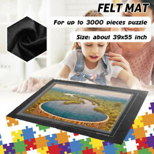 Puzzle Large Mat Roll Up Puzzle Felt Storage For Up To 3000 Pieces Game Felt US