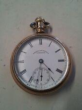American Watch Co. Waltham Pocket Watch 18sz.