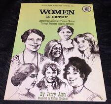 Teacher Reproducibles Women in History Americas Famous Women Grade 4-8