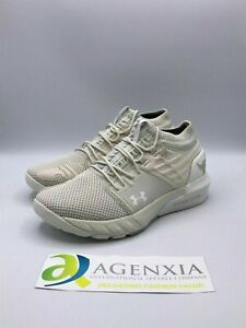 Under Armour Womens 8 Project Rock 2 White Training Sneakers Shoes 3022398-103