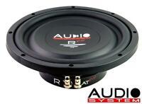 "Audio System R 08 FLAT EVO 20cm / 8"" FLAT flacher Subwoofer Radion 175 Watt RMS"