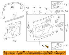 GM OEM Front Door-Door Trim Panel Screw 11547755