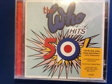 THE. WHO.         2 CDs.     HITS.   50.