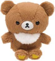 San-X Rilakkuma Small Soft Stuffed Toy Brown Bear Plush Doll Gift japan