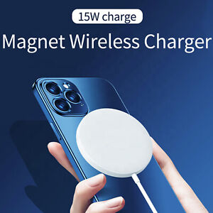 Mag Safe 15W Energy Star Wireless Charger Fast Charging Pad For Apple iPhones