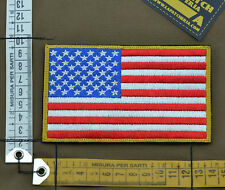 """Ricamata / Embroidered Patch Forward """"USA Big Flag"""" with VELCRO® brand hook"""