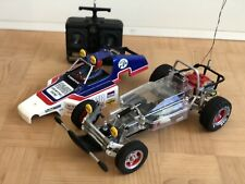 tamiya buggy champ new with vintage radio rtr chassis rough rider sand scorcher